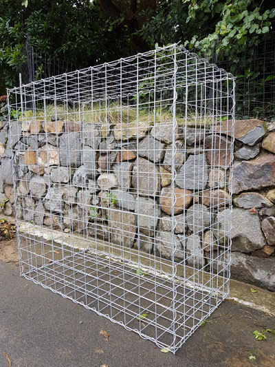 gabion wall photo